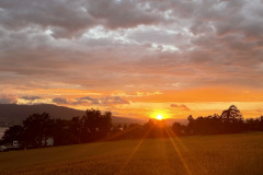 Sonnenuntergang 7. Juli 2021