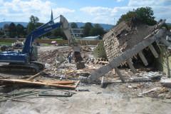 Abbruch, 31. August 2007