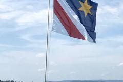 Zolliker Fahne in der Seebadi
