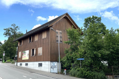 Hütte der Maitlipfadi Chluppi