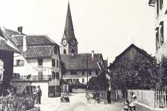 Alte Landstrasse, um 1920