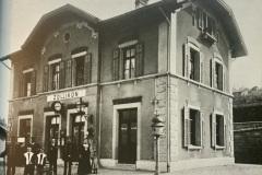 Bahnhof Zollikon um 1900