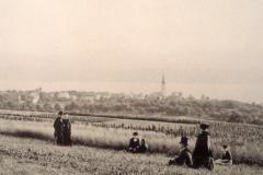 Spaziergang der Pfarrfamilie Wolfensberger, 1882