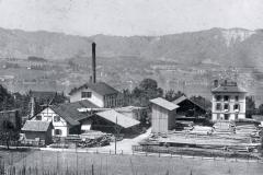 Kistenfabrik, vor 1912