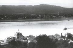 Blick vom Kirchturm zum Casino, 1900