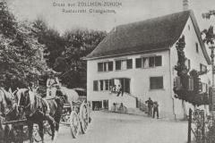 Restaurant Obstgarten 1907, abgerissen 1962