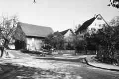 Dufourplatz, vor 1932. Rechts das Ärztehaus.