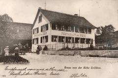 Restaurant Höch, um 1910