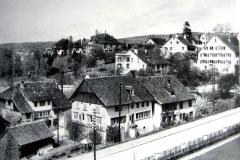 Häuser «Im Loch» unterhalb Dufourplatz, vor 1932