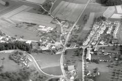 1957, Forchstrasse nach Zumikon, Aufnahme von G. Brunner