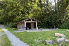Hütte an der Glarnerwis