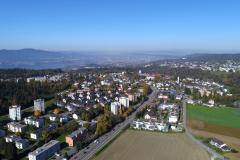 Blick über den Zollikerberg zur Stadt
