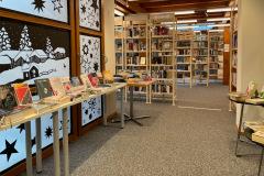 Bibliothek Dorf, Dezember 2020