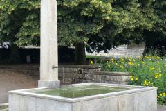 Brunnen beim Dufourplatz