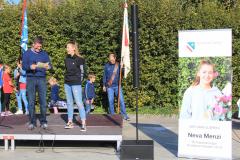 Empfang der Schützenkönigin Neva Menzi: Interview mit Gemeindepräsident Sascha Ullmann