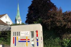 «Kunstschatulle» auf dem Dorfplatz