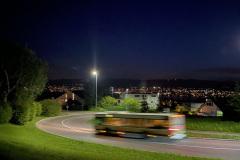 Bus im Locherrank