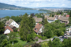 Blick nach Zürich, Juni 2009