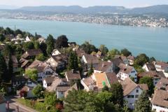 Blick zum Kleindorf, Juli 2011