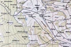 Wild-Karte, um 1860