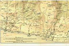 Wegkarte, 1900