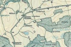 Wegkarte, 1919