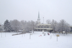 reformierte Kirche Dorf, Winter 2011