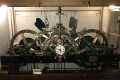 Uhrwerk der reformierten Kirche