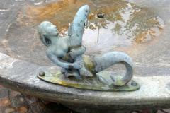 «Nymphe  mit Fisch», Otto Münch, 1968