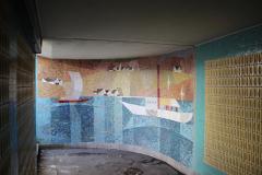 Mosaik von Fred Stolle, Unterführung Seestrasse