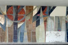 «Wandmosaik», Maja von Rotz, 1969