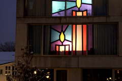 Weihnachtfenster Oescher 2012