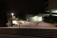 Treppe zum Oberstufenschulhaus Buchholz