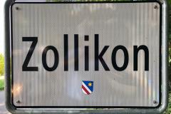 Ortstafel Zollikon/Küsnacht