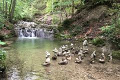 Steinmännchen im Wehrenbach