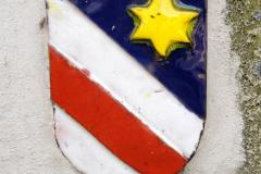Wappen aus Email