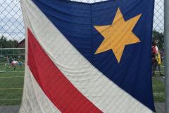Fahne an der «Schüeli»