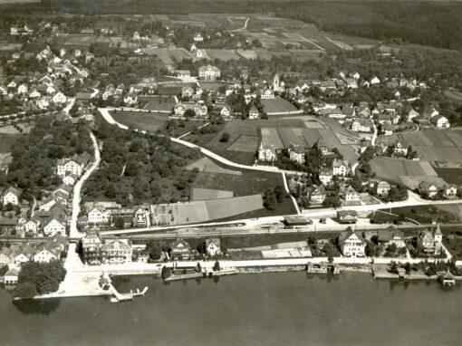 historische Luftaufnahmen